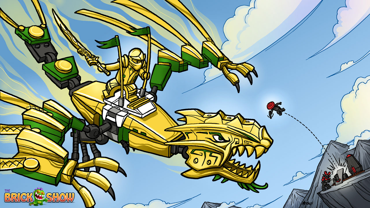Ninjago Ice Dragon Coloring Pages